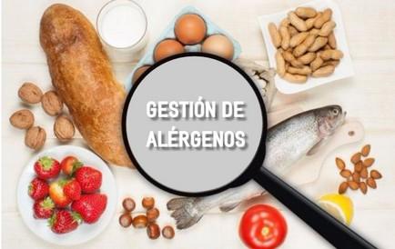 curso de gestión de alérgenos