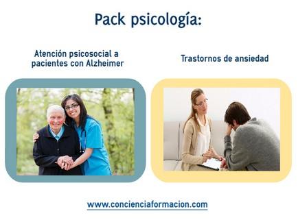 curso de Atención psicosocial a personas con Alzheimer y Trastornos de ansiedad